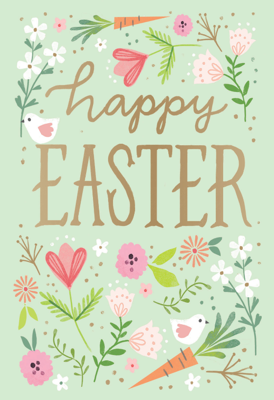 picture regarding Free Printable Religious Easter Cards known as Easter Playing cards (No cost) Greetings Island