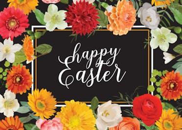 Easter Garden - Holidays Card