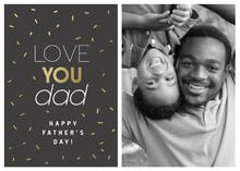 Golden Dad - Fathers Day Card