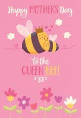 Queen bee - Mother's Day Card