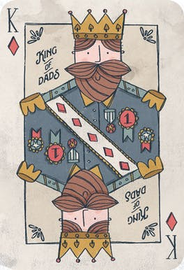 Royal Reign - Fathers Day Card