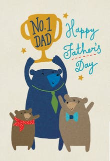 Top Contender - Fathers Day Card