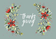 Grateful today - Thanksgiving Card