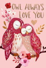 Birds of a Feather - Valentine's Day Card