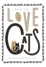Cattails - Valentine's Day Card