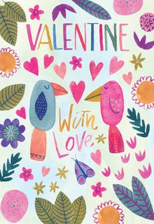 Lovebirds - Valentine's Day eCard