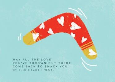 What Goes Around - Valentine's Day Card