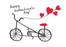 Bicycles - Valentine's Day Card