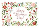 Bowers of Flowers - Tarjeta De San Valentín