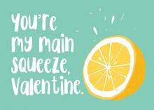 Tart Art - Valentine's Day Card