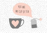 Tea Time - Valentine's Day Card