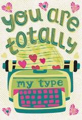My type - Love Card