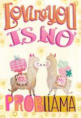 No Probllama - Love Card