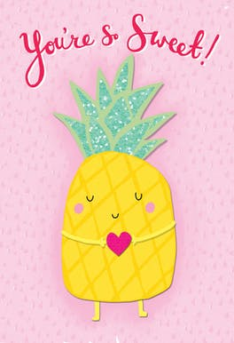 Sweet 2 Me - Love Card