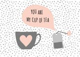 Tea Time - Love Card