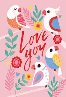 Two Tweet - Love Card