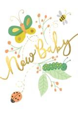 Baby Buggies - Tarjeta De Recién Nacido