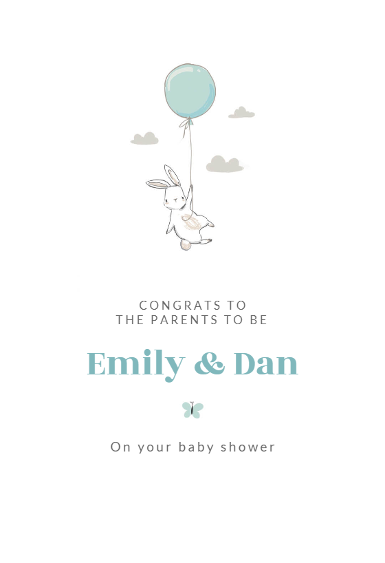 image regarding Free Printable Baby Registry Cards named Little one Shower Contemporary Boy or girl Playing cards (Free of charge) Greetings Island