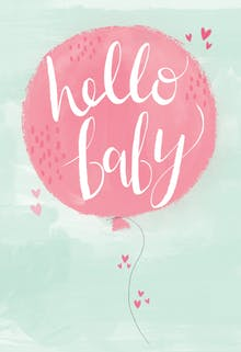 Happy Arrival - Baby Shower & New Baby Card