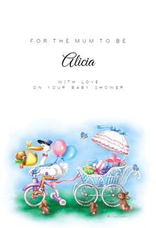 Special delivery - Baby Shower & New Baby Card