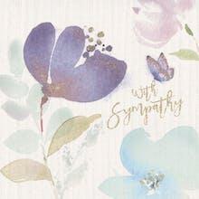 Calming Comfort - Sympathy & Condolences Card