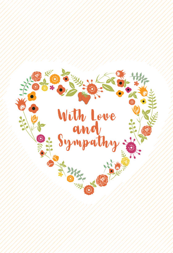 It is a picture of Sympathy Card Printable throughout time