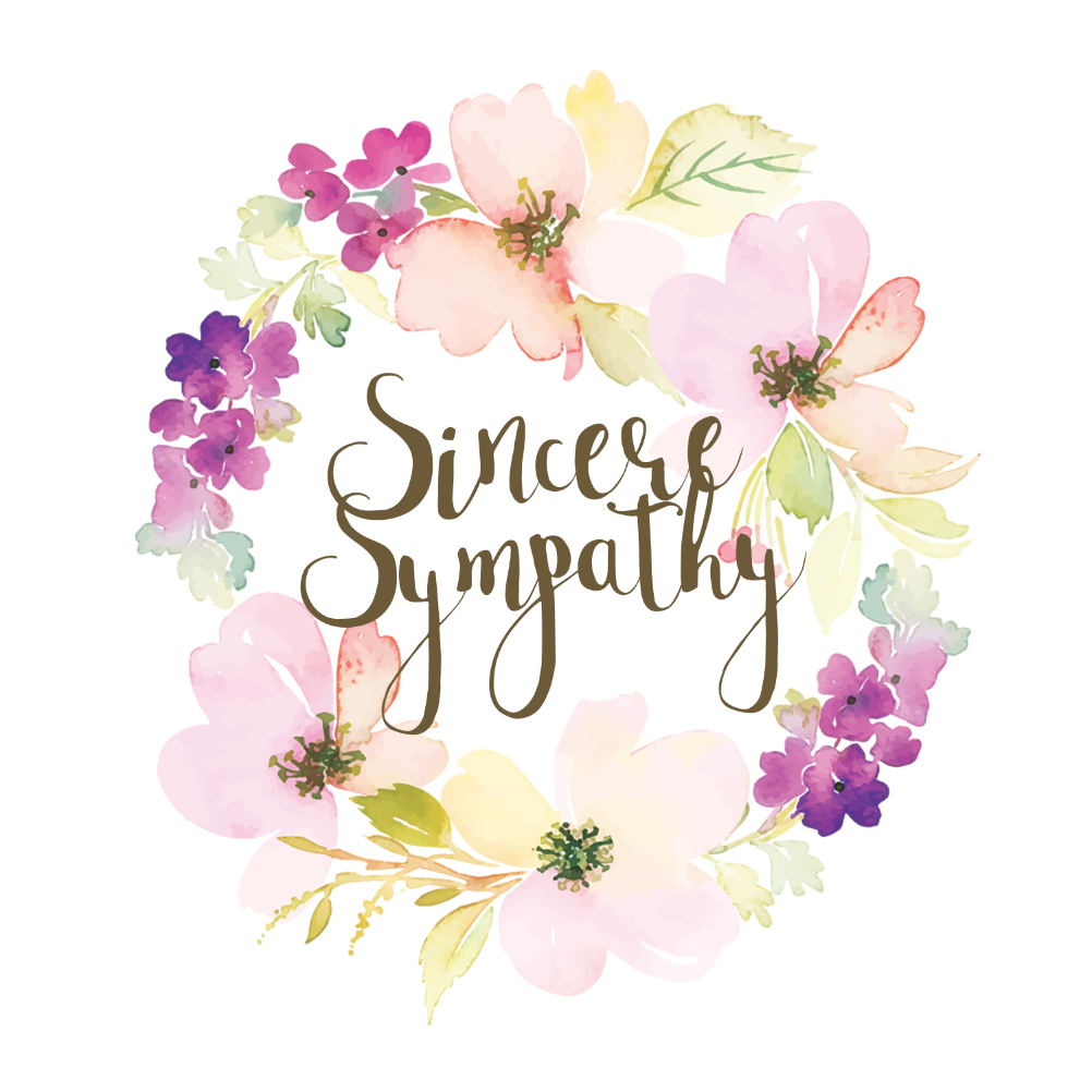 image about Free Printable Sympathy Cards titled Sympathy Condolences Playing cards (Absolutely free) Greetings Island