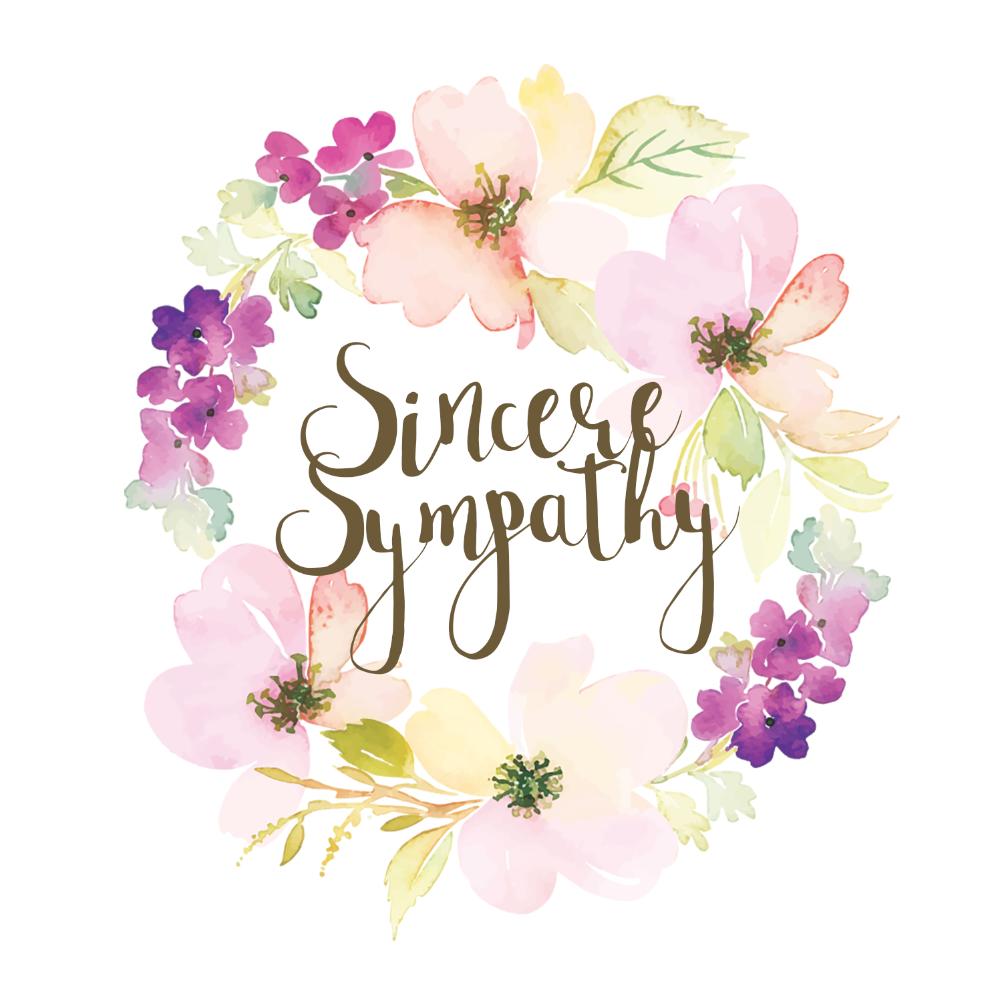 graphic regarding Printable Sympathy Cards named Sympathy Condolences Playing cards (No cost) Greetings Island