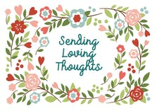 Loving Thoughts - Thoughts & Feelings Card