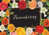 Remembering - Sympathy & Condolences Card