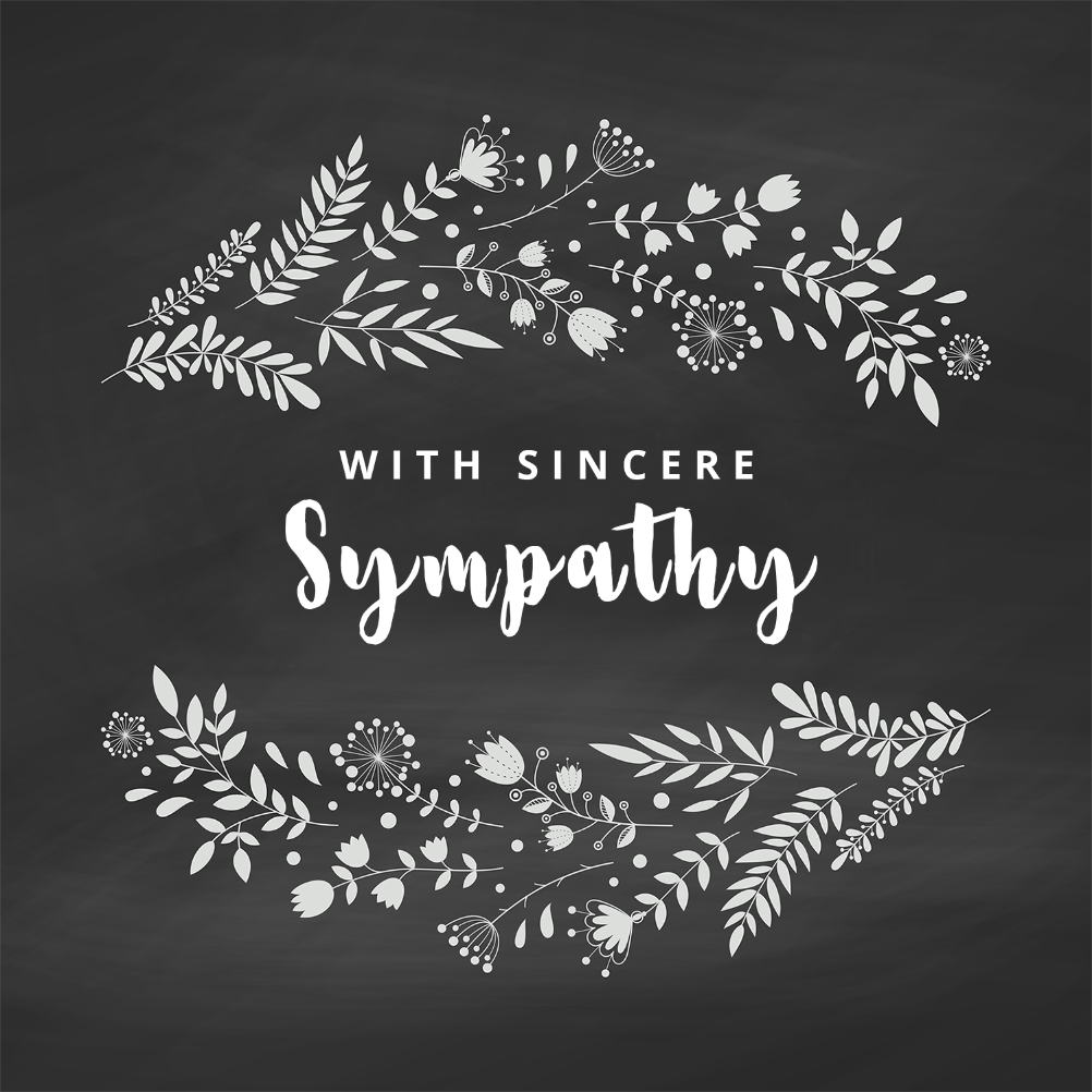 image relating to Free Printable Sympathy Cards named Sympathy Condolences Playing cards (Totally free) Greetings Island