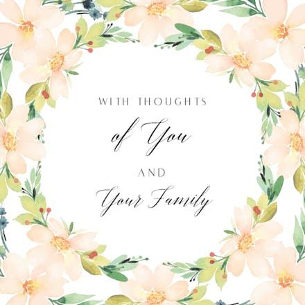 Sympathy & Condolences Cards (Free) | Greetings Island