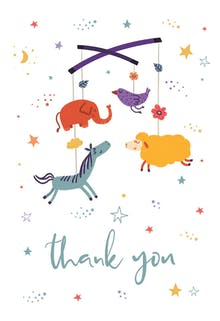 Bundle of Joy - Baby Thank You Card