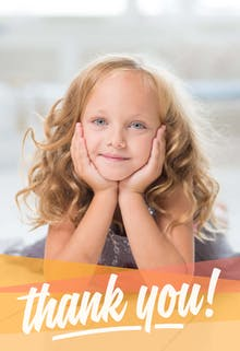 All Smiles - Birthday Thank You Card