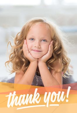 All Smiles - Thank You Card Template
