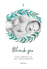 Bay Laurel - Thank You Card