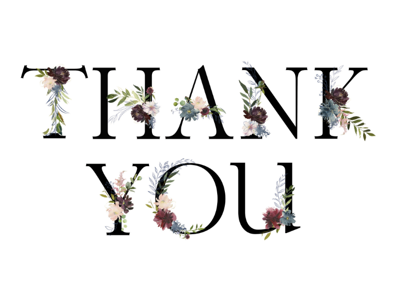 image about Printable Thank You Card Templates referred to as Thank Yourself Card Templates (Totally free) Greetings Island