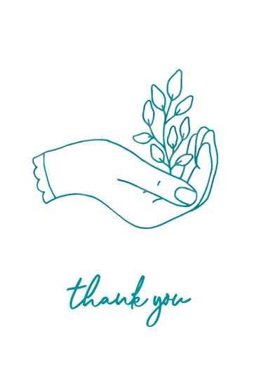 For you - Thank You Card Template