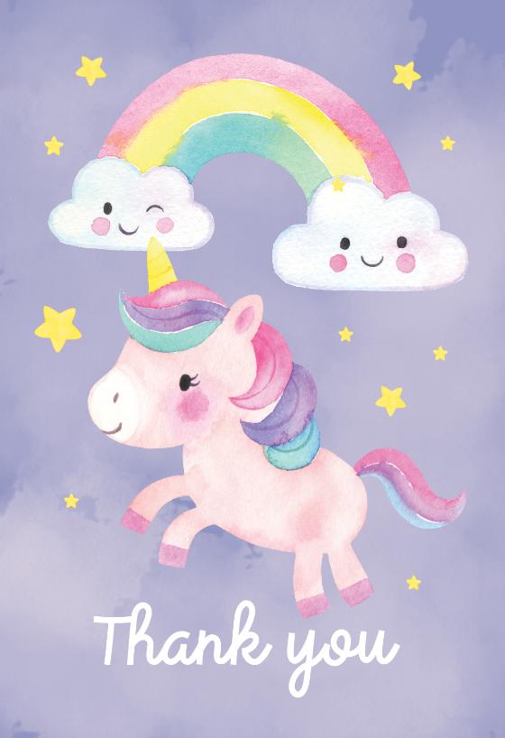 friendly unicorn