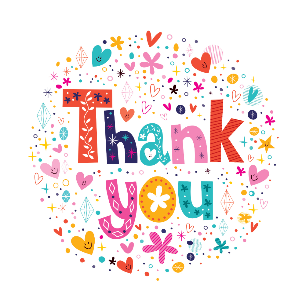 image about Printable Thank You Cards Free identify Thank On your own Card Templates (Absolutely free) Greetings Island