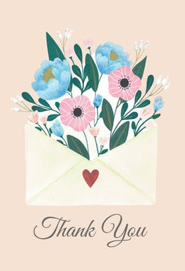 Heartwarmer - Thank You Card Template