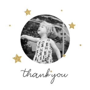 Sweet Thank you - Thank You Card Template