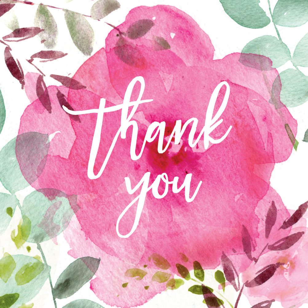 Satisfactory image in free printable thank you cards with photo