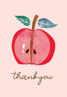 Happy Central - Thank You Card For Teacher