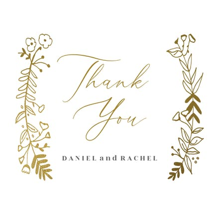 Wedding Thank You Cards Free Greetings Island