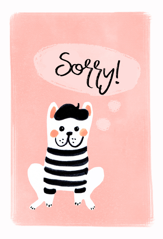 graphic relating to Printable Sorry Cards titled Sorry Playing cards (Cost-free) Greetings Island
