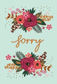 Say It with Flowers - I'm Sorry Card
