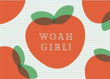 Woah Girl - Friendship Card