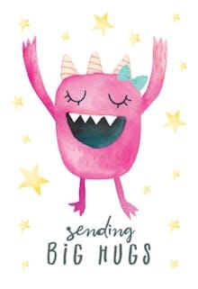 Awkward - Hugs Card