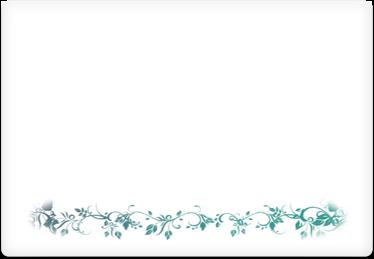 Festive Flowers - Printable Envelope Template